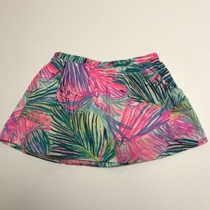 Lilly Pulitzer Girl's Sam Mini Colorful Skort XL